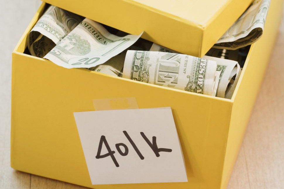 You are thinking borrow money from your 401k?